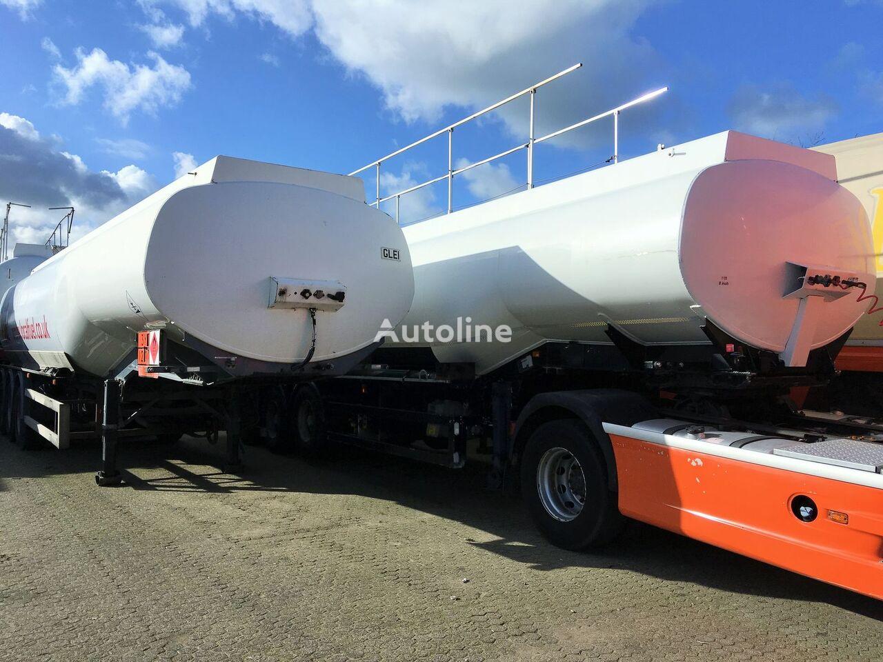 FRUEHAUF Fuel 40.400 ltr Benzin-Diesel LGBF fuel tank trailer