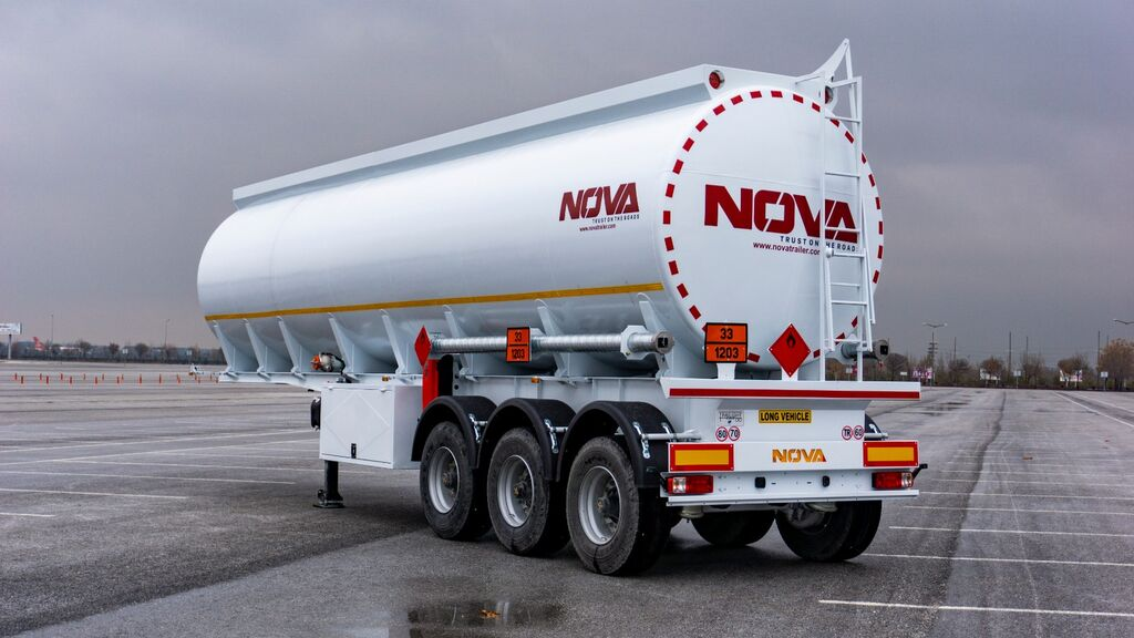 new Fuel Tanker Trailers Nova 15 to 45.000 Liters  fuel tank trailer