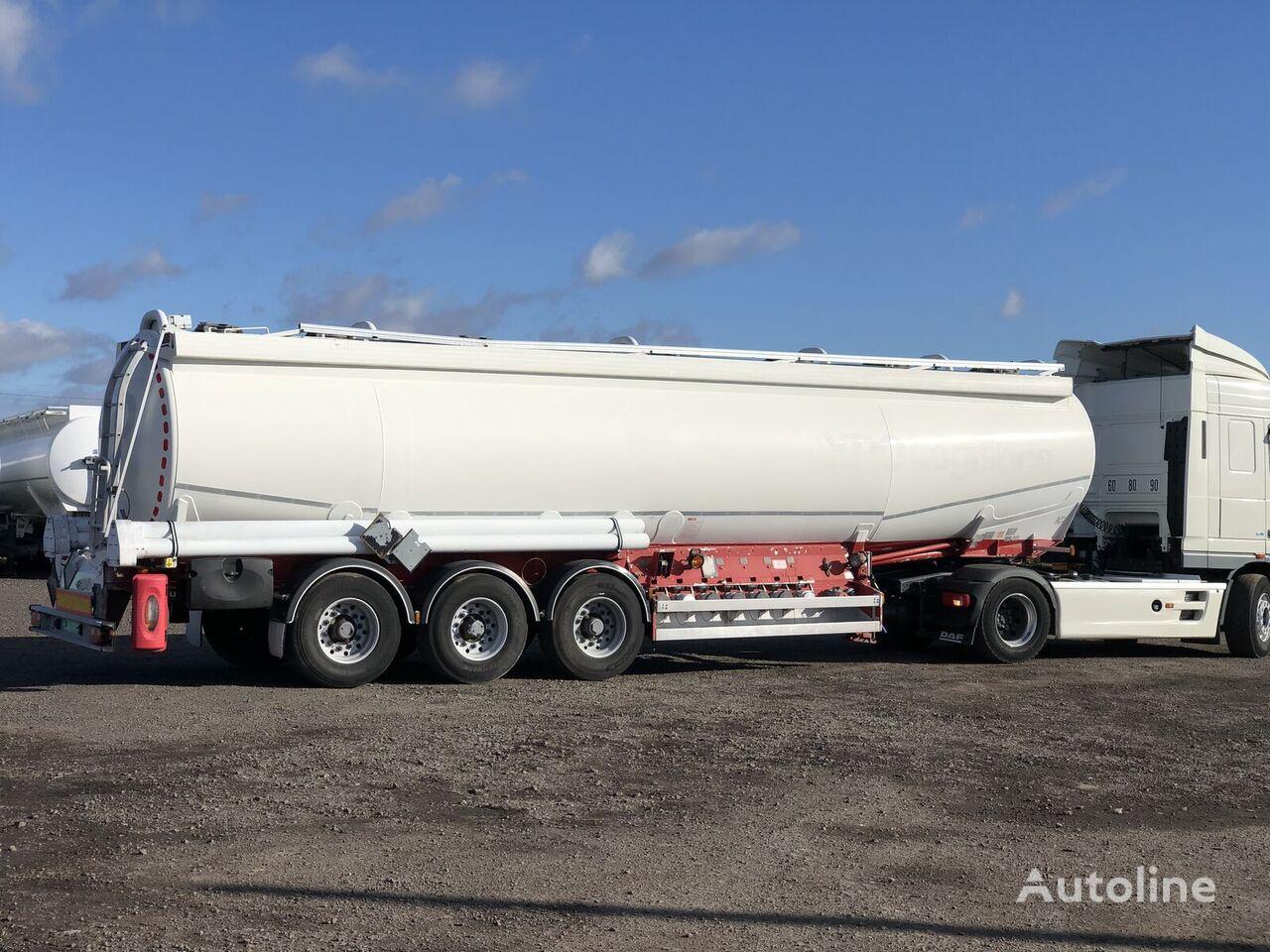 General Trailers TX34 fuel tank trailer