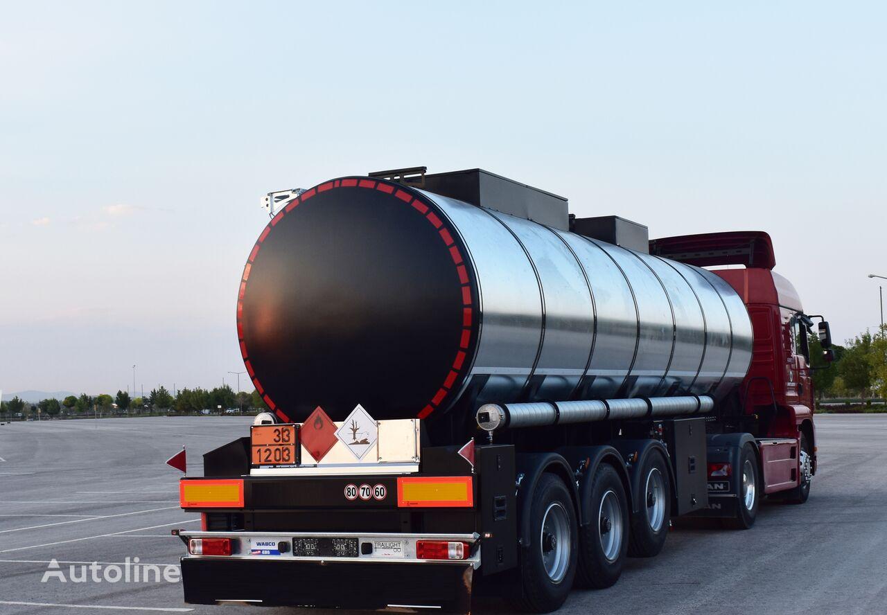 new Jeho 99983 Toplivocisterna (bitum, dizel, benzin) fuel tank trailer