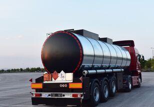 new Jeho 99983 Топливоцистерна (битум, дизель, бензин) fuel tank trailer