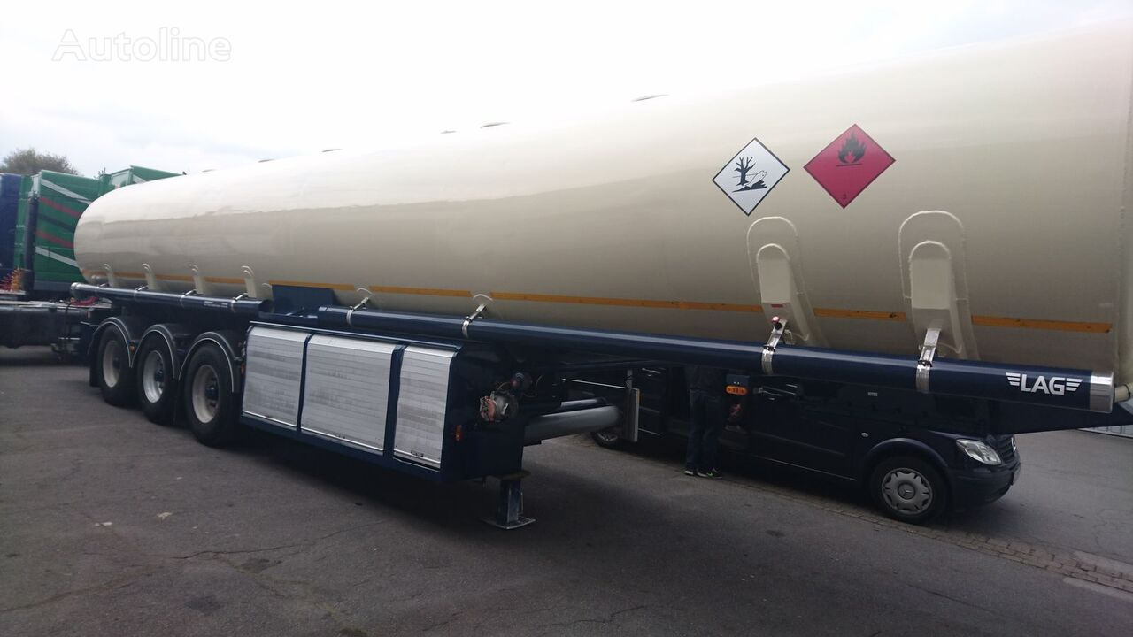 L.A.G. Benzin Diesel Tank 2X Zähler   Drucker fuel tank trailer