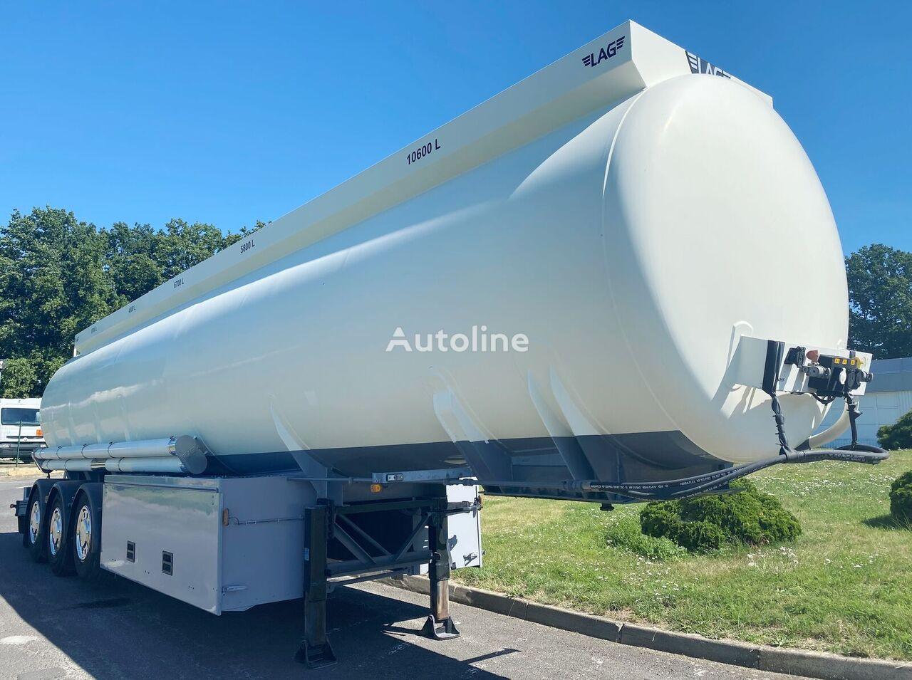 LAG 0-3-36 TP mit Messanlage 5 Kam.  fuel tank trailer