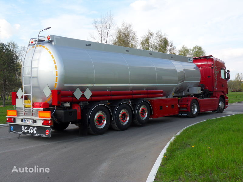 new LDS NCP-37 fuel tank trailer