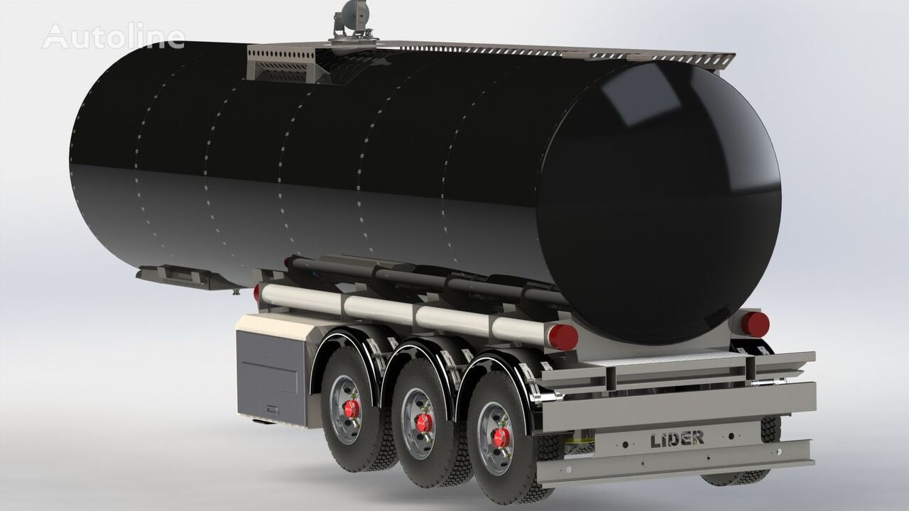 new LIDER 2020 year NEW directly from manufacturer compale stockny ready a fuel tank trailer