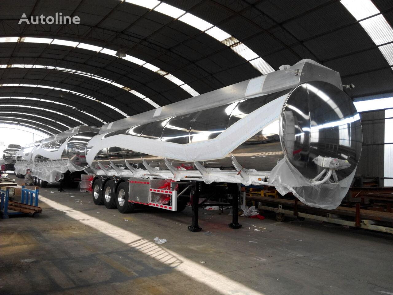 new MAGYAR 10 x unit 45 M 3 Magnalium fuel tank trailer