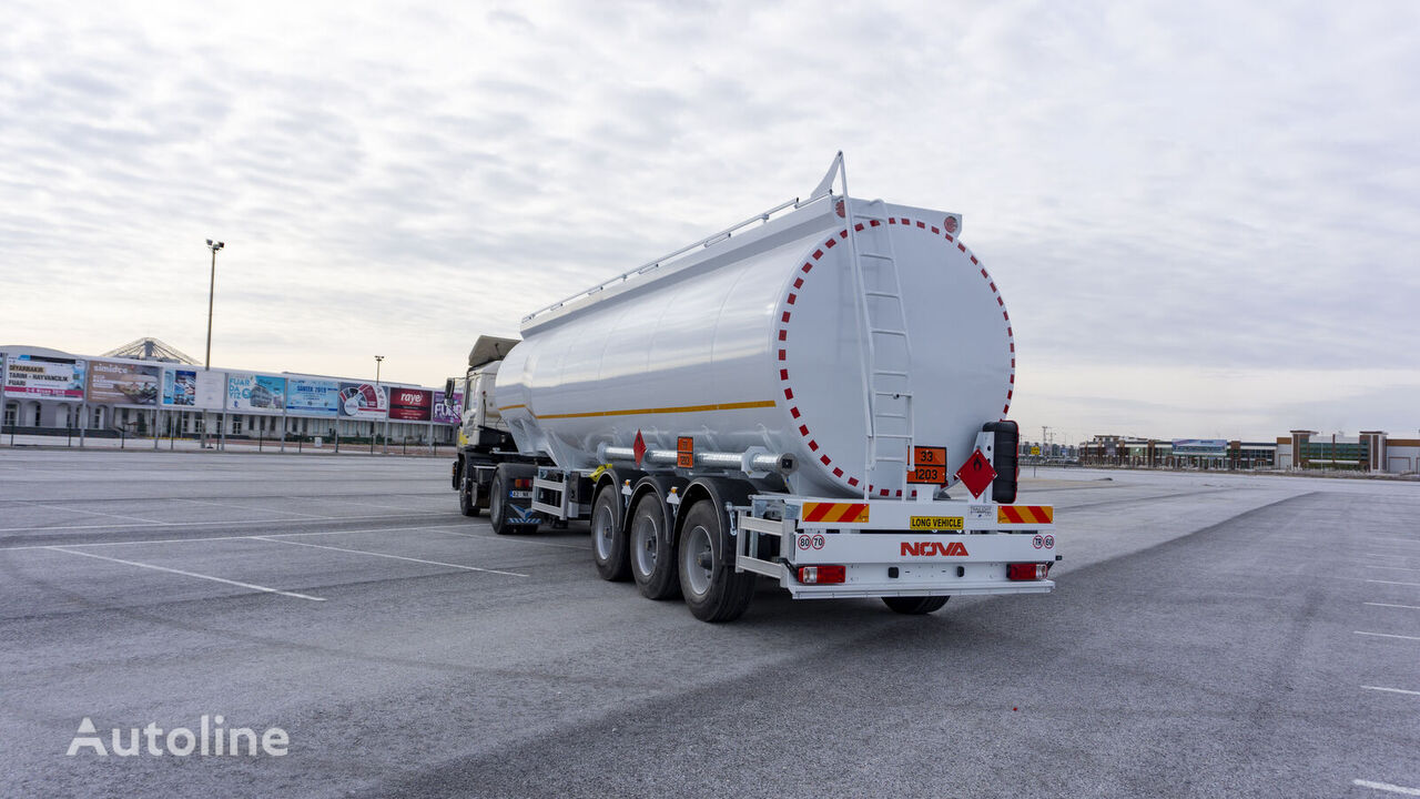 new NOVA Bottom Loading Tanker Trailer from Manufacturer fuel tank trailer