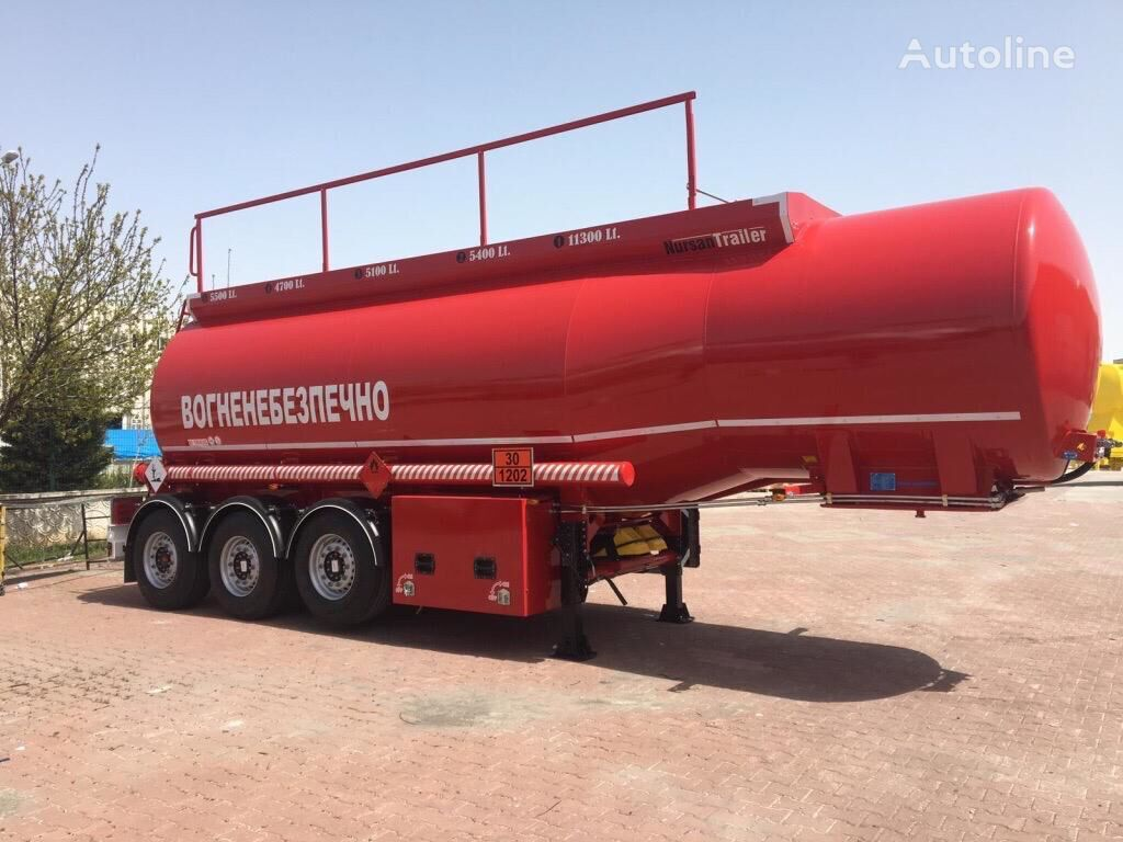 new NURSAN fuel tank trailer