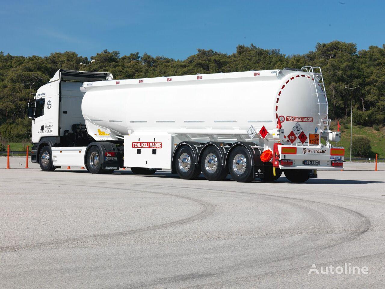 new OKT TRAILER 38.000 L CONICAL TANKER fuel tank trailer