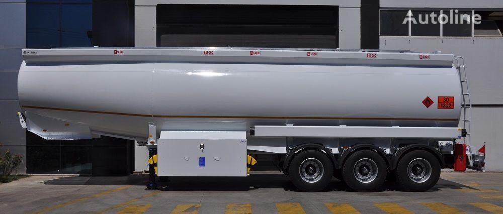 new OKT TRAILER 42000 Lt Mild Steel Tanker Semi Trailer  fuel tank trailer