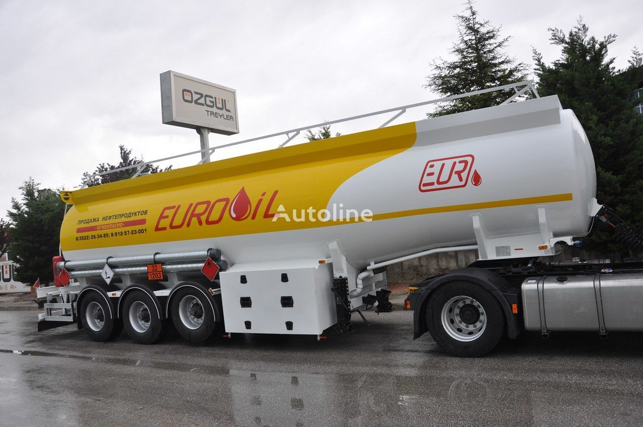 new OZGUL FUEL TANKER SEMI TRAILER fuel tank trailer