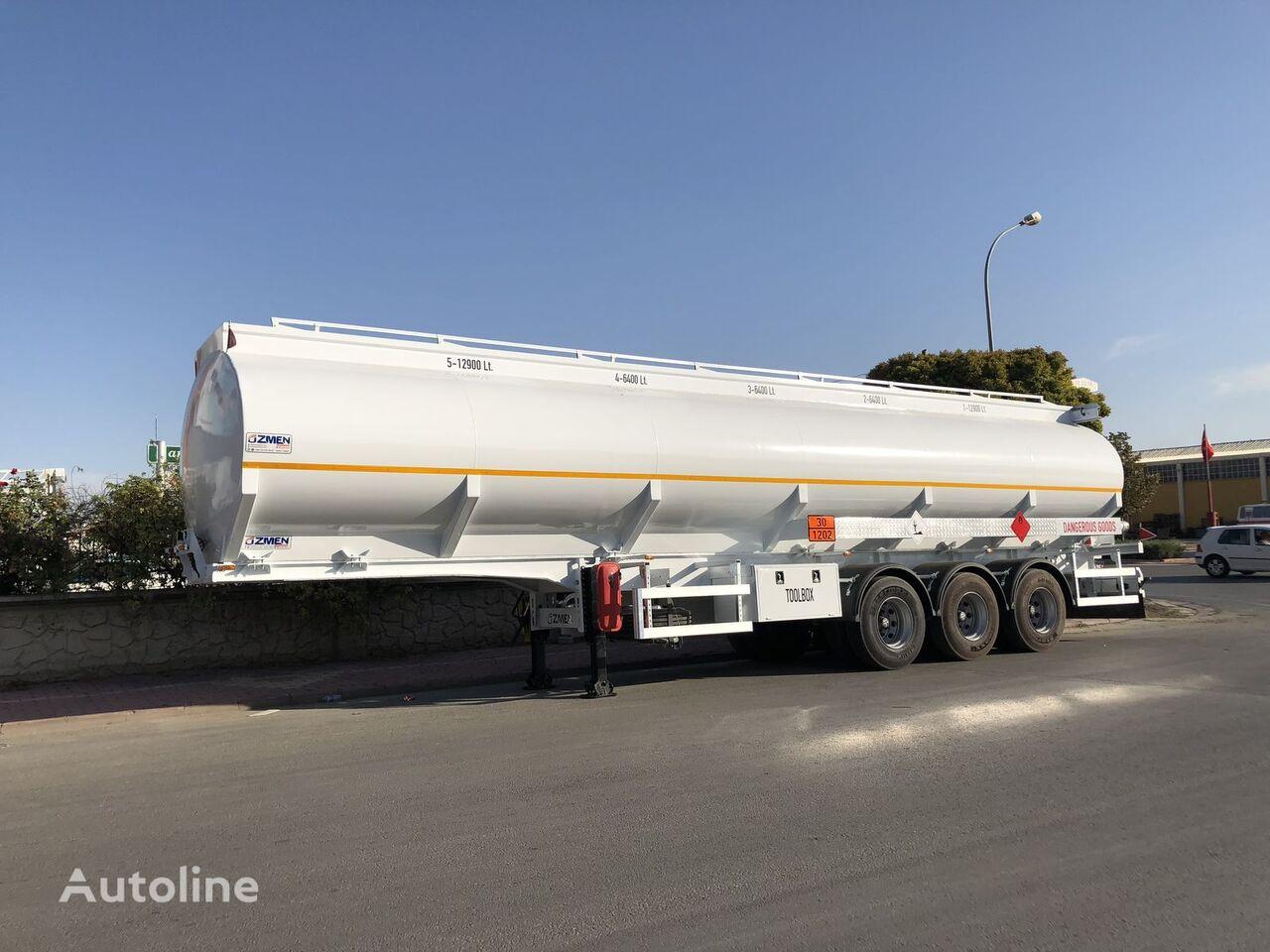 new Ozmen Damper FUEL TANKER SEMI TRAILER fuel tank trailer