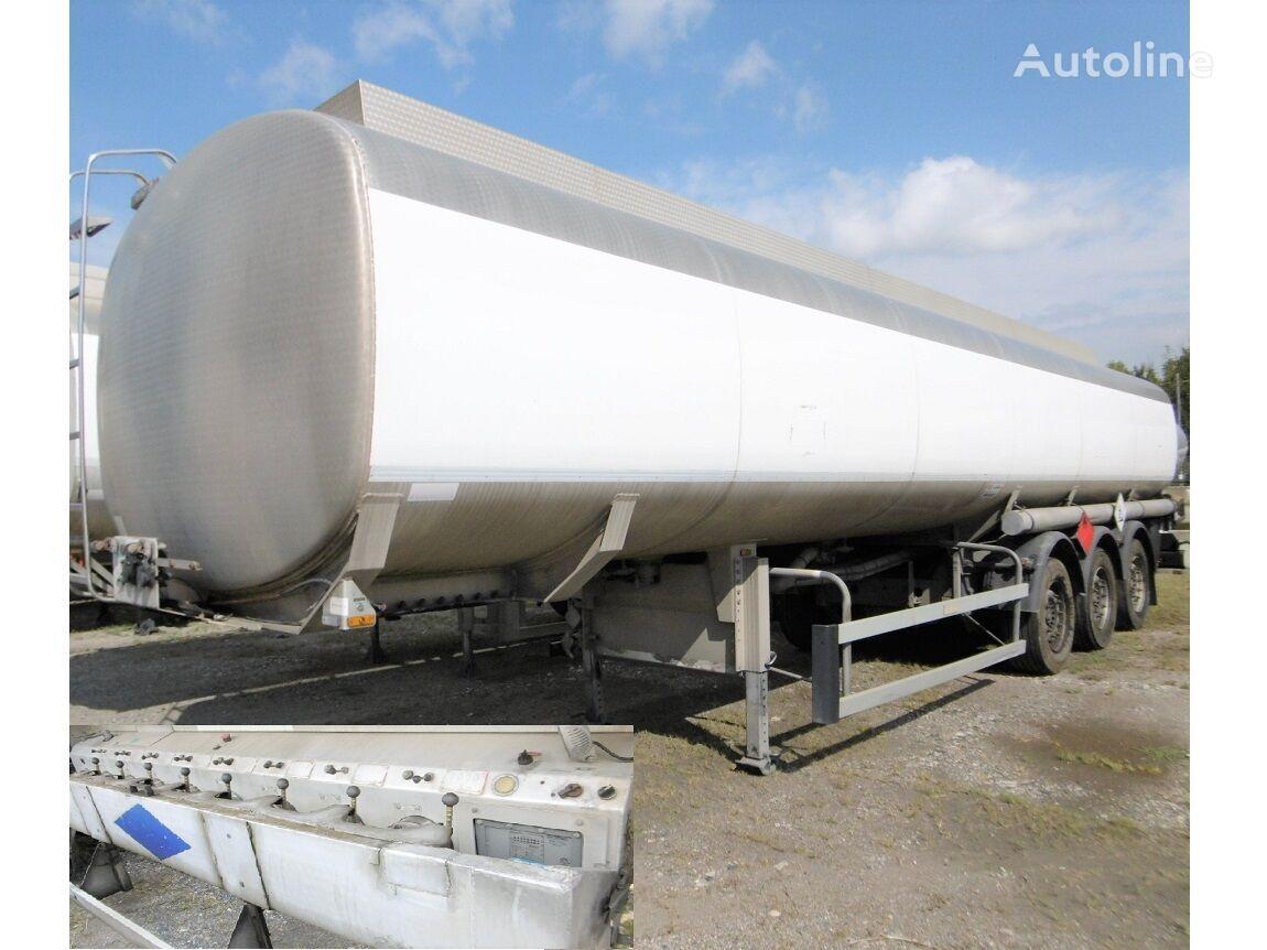 SACIM FUEL/BENZIN/DIESEL SAF+ABS+ADR 8xKAMER=45140LTR fuel tank trailer