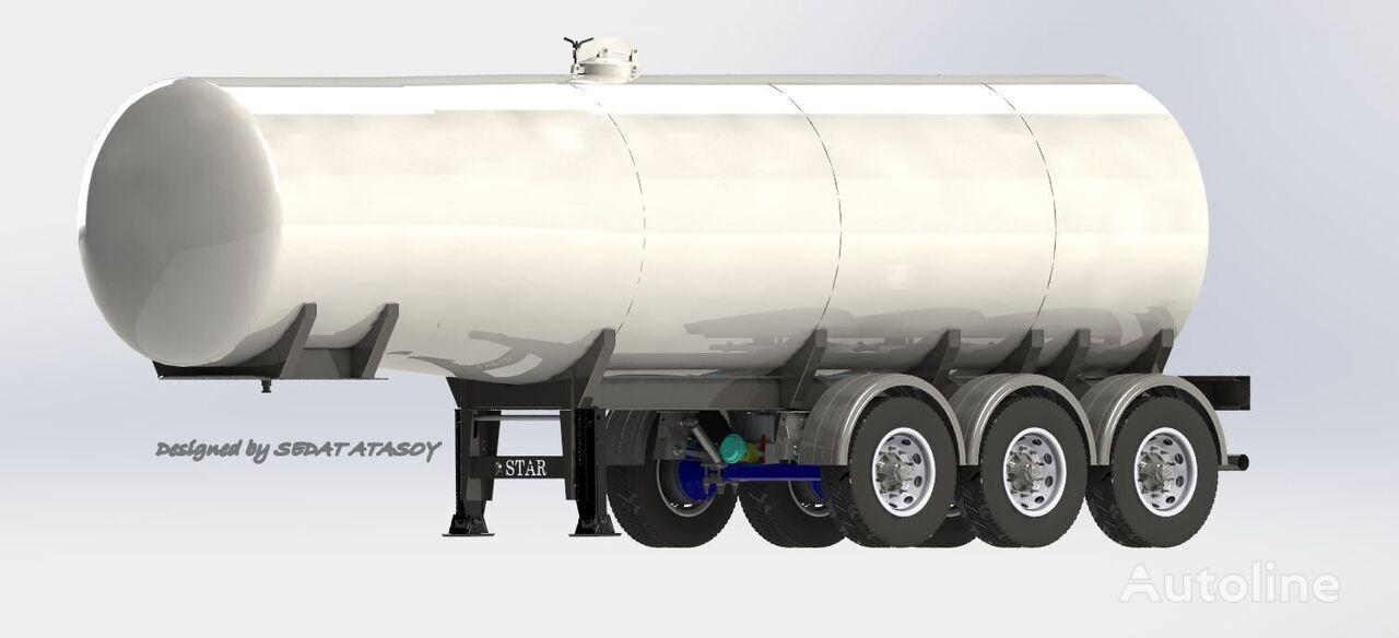 new STAR TRAILER ST2021 TANKER, GASOLINE TANKER, PETROL TANKER, BITUMEN TANKER fuel tank trailer