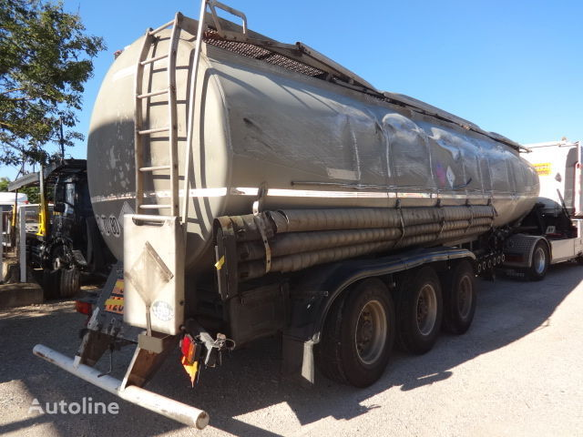TRAILOR Fuel 40000 liters accident fuel tank trailer