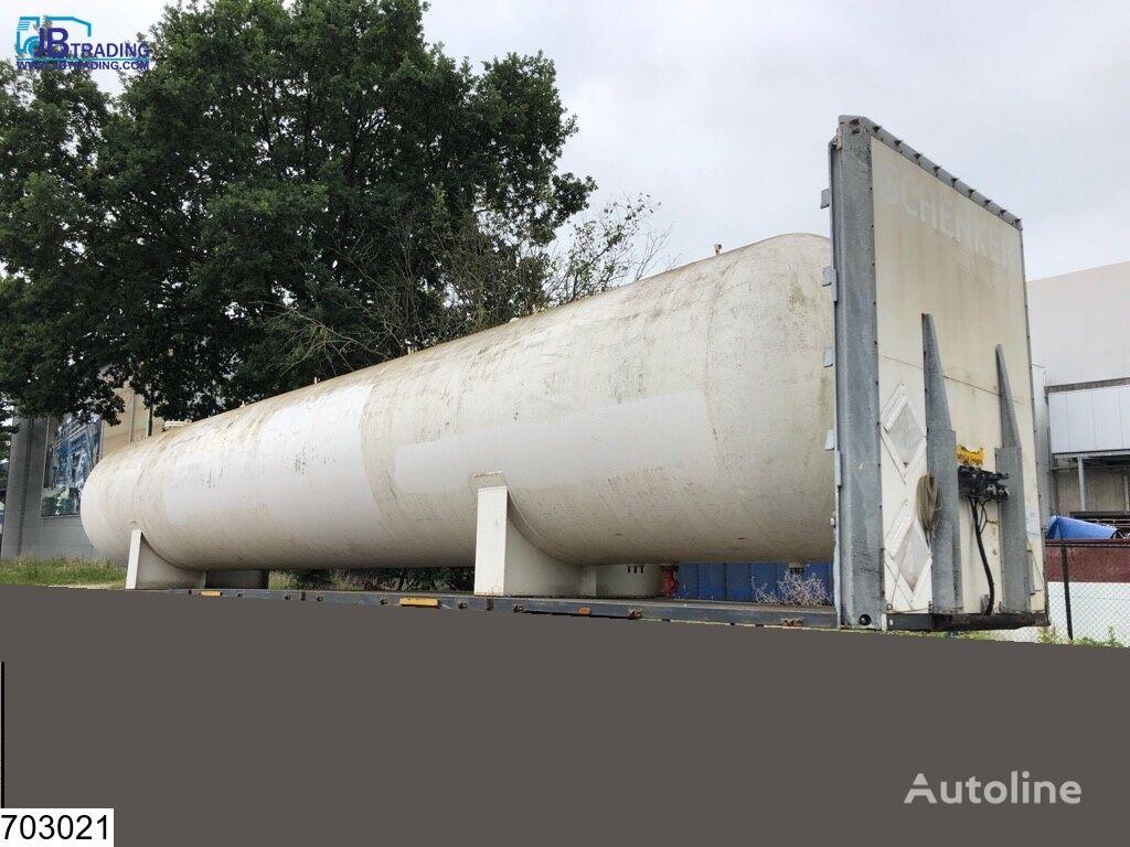 Citergaz Gas 72250 liter LPG GPL gas storage tank gas tank trailer