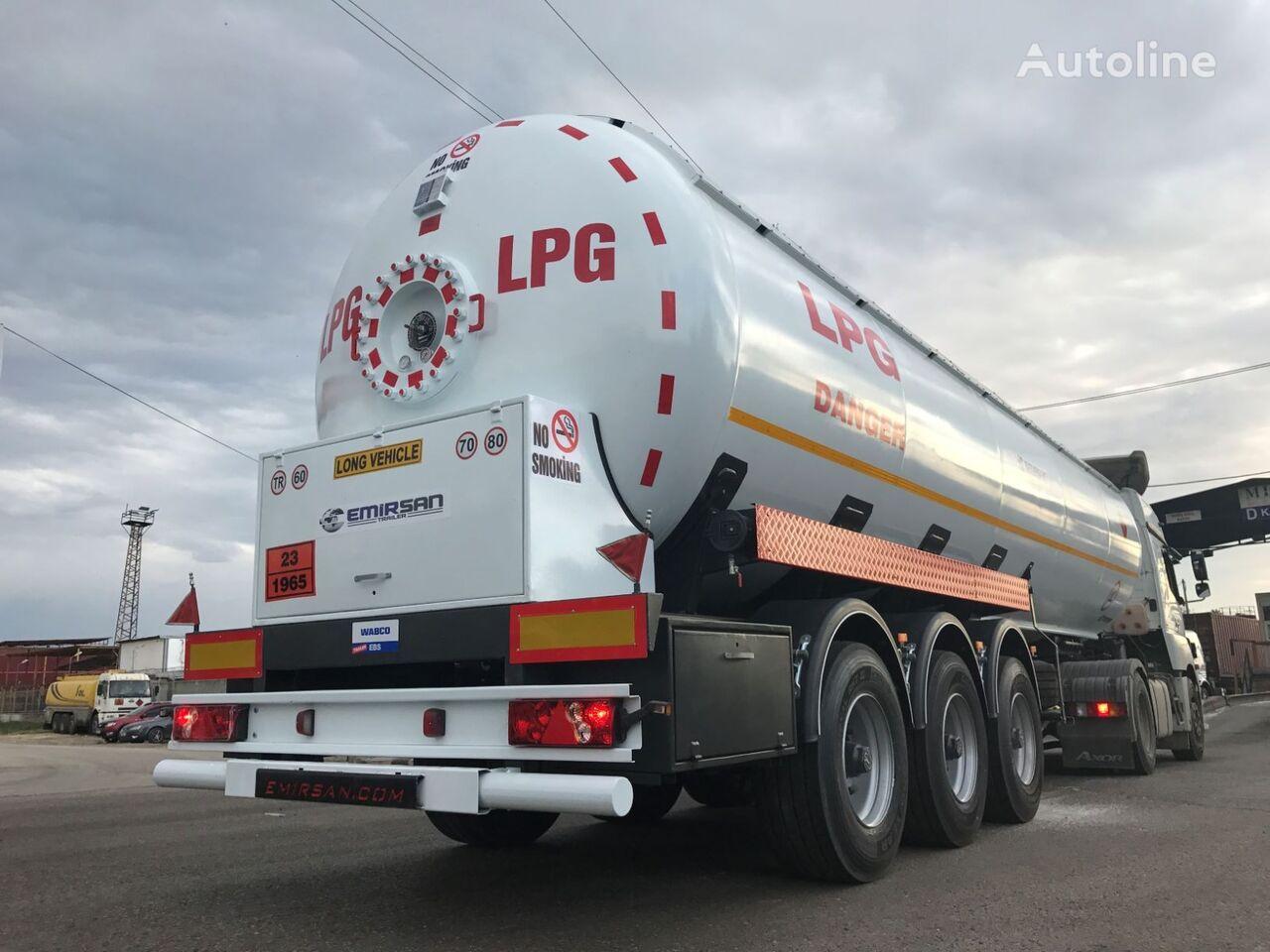 new GEWOLF LPG Tank Semi Trailer gas tank trailer