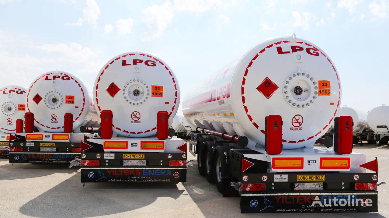 new YILTEKS 45 M3 LPG SEMI TRAILER  gas tank trailer