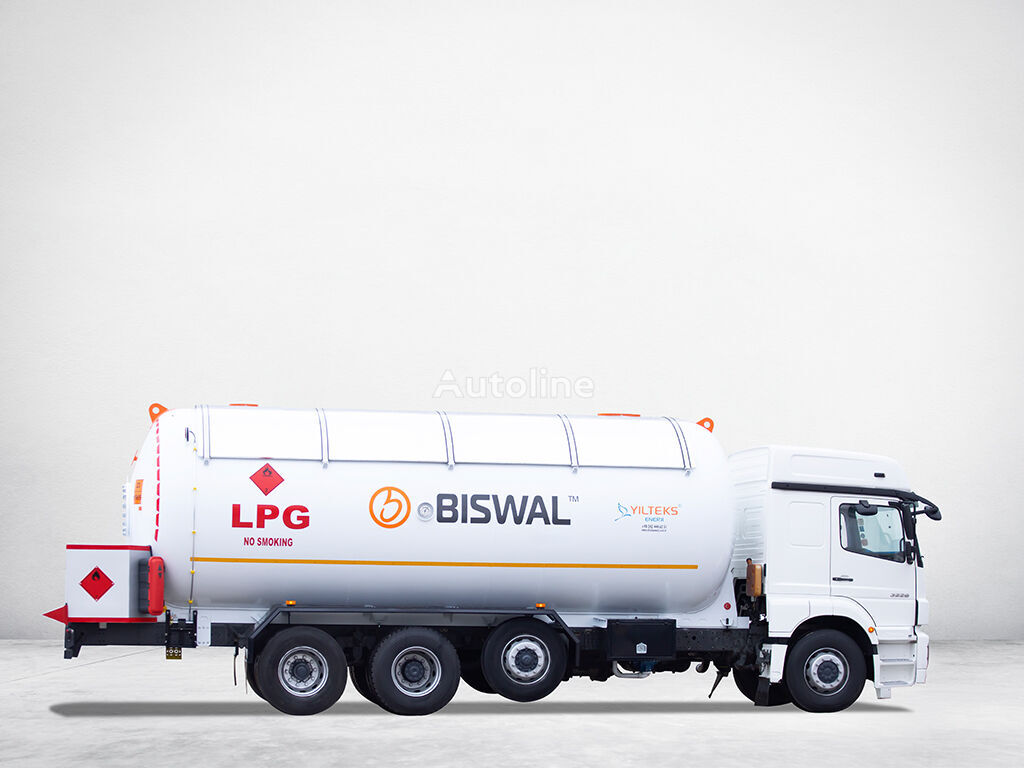 new YILTEKS NEW BOBTAIL TRANSPORT SERVICE TANK gas tank trailer