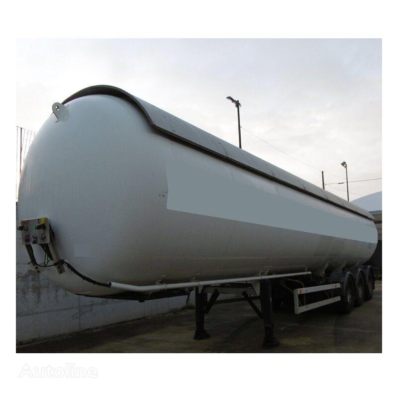 ACERBI LPG/GAS/GAZ/GPL/PROPAN-BUTAN 27BAR SUNNY PROTECTION+ABS=54.500LT gas tank trailer