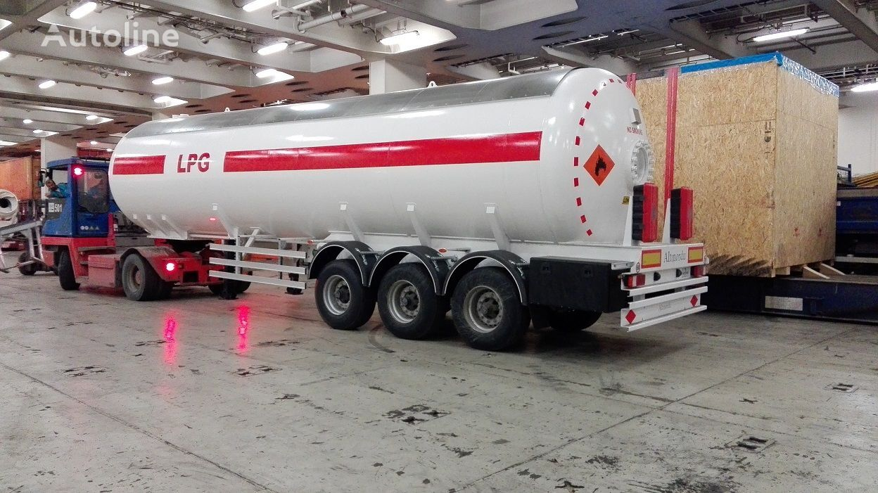 new ALTINORDU PRODUCER SINCE 1972, 3 AXLE 52 m3 LPG TRANSPORT TANK gas tank trailer