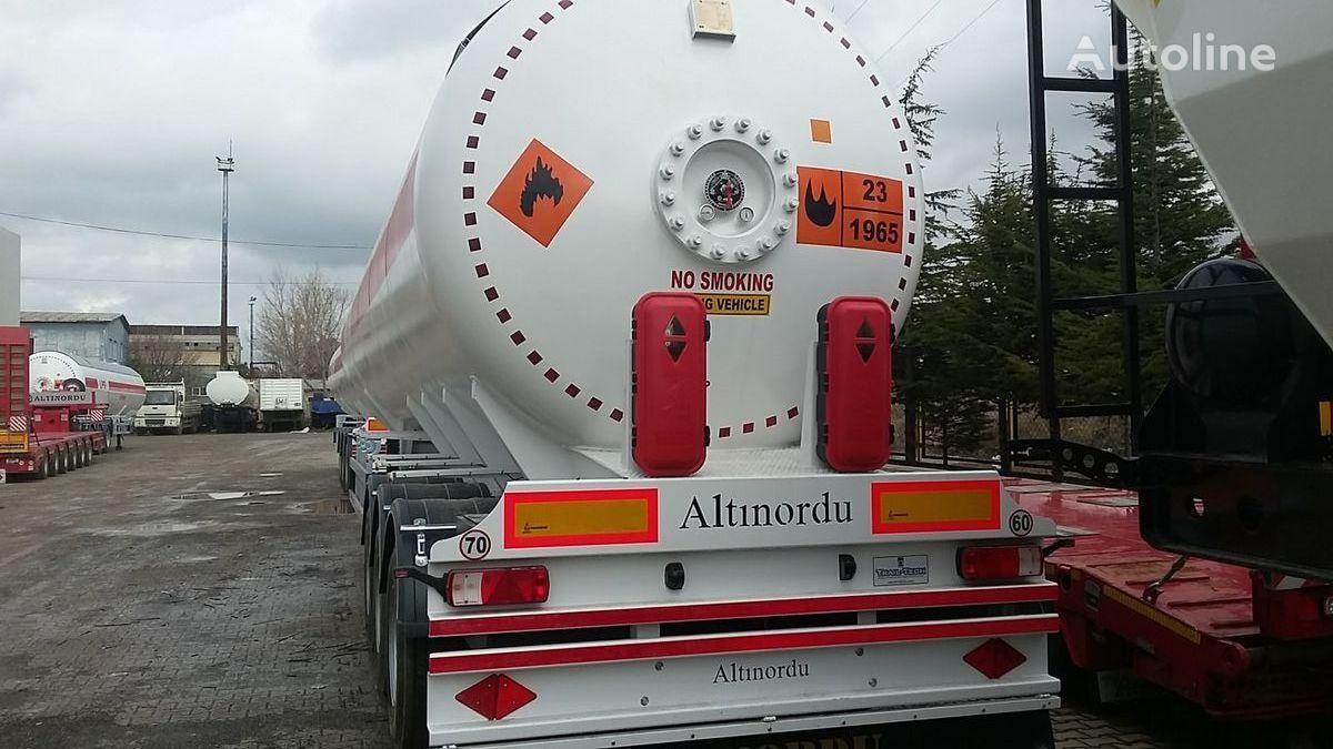 new ALTINORDU PRODUCER SINCE 1972 ,3 AXLE 60 M3 12 TYERS LPG SEMI TRAILER TANK gas tank trailer