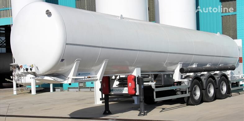 new Cryogenic Super 20 m3 (LOX/LAR/LIN) gas tank trailer