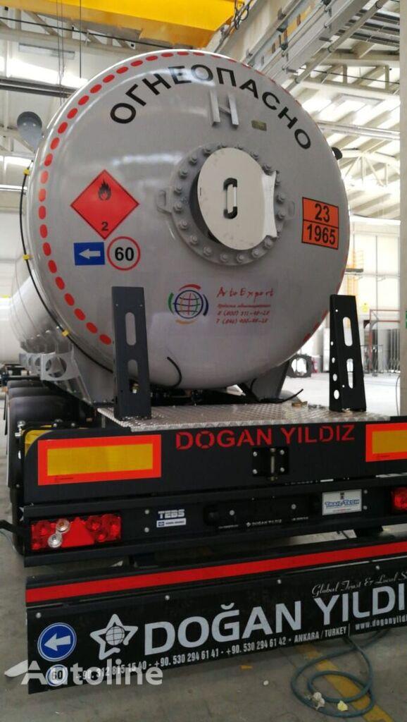 new DOĞAN YILDIZ DY3 gas tank trailer