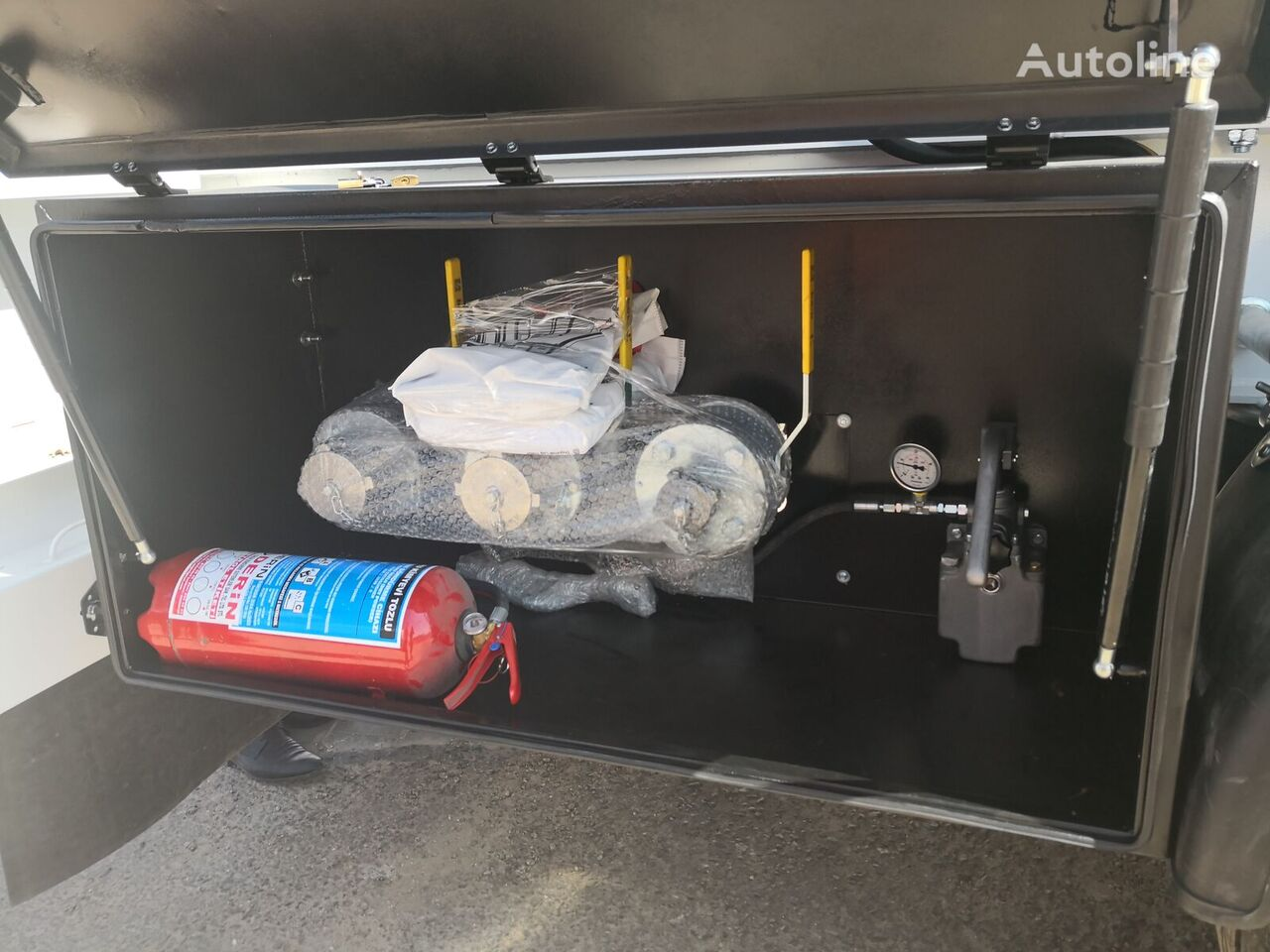 new DOĞUMAK gas tank trailer
