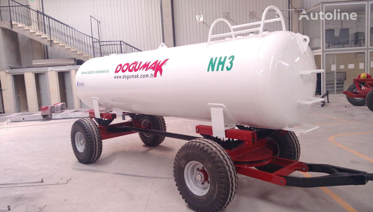 new DOĞUMAK Ammonia fertilizer application NH3 gas tank trailer
