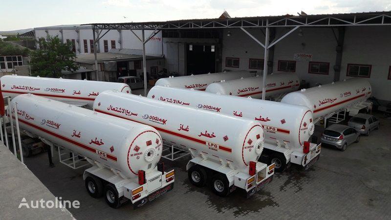 new DOĞUMAK LPG - YMN gas tank trailer