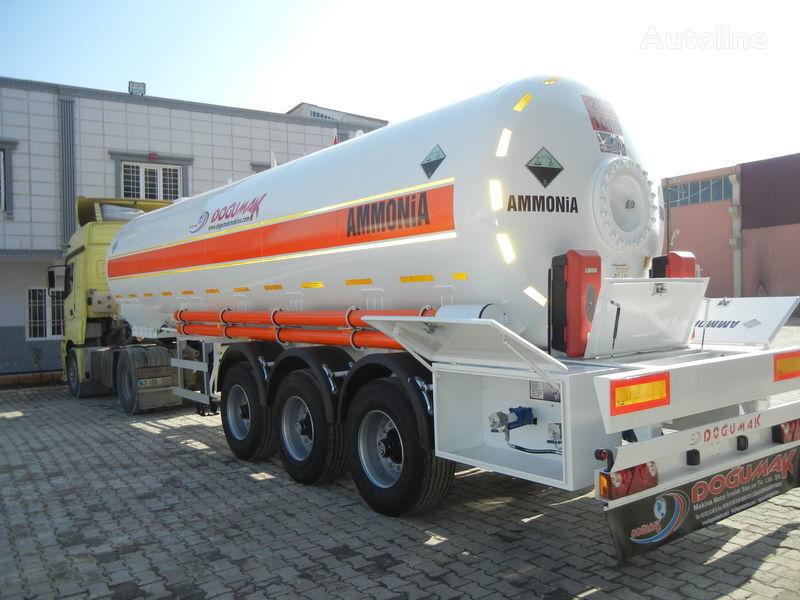 new DOĞUMAK SEMI-TRAILER  35M3 AMMONIA (NH3) gas tank trailer