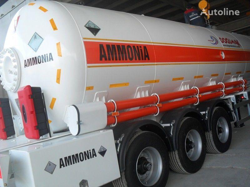 new DOĞUMAK AMMIAKOVOZ 35M3 gas tank trailer