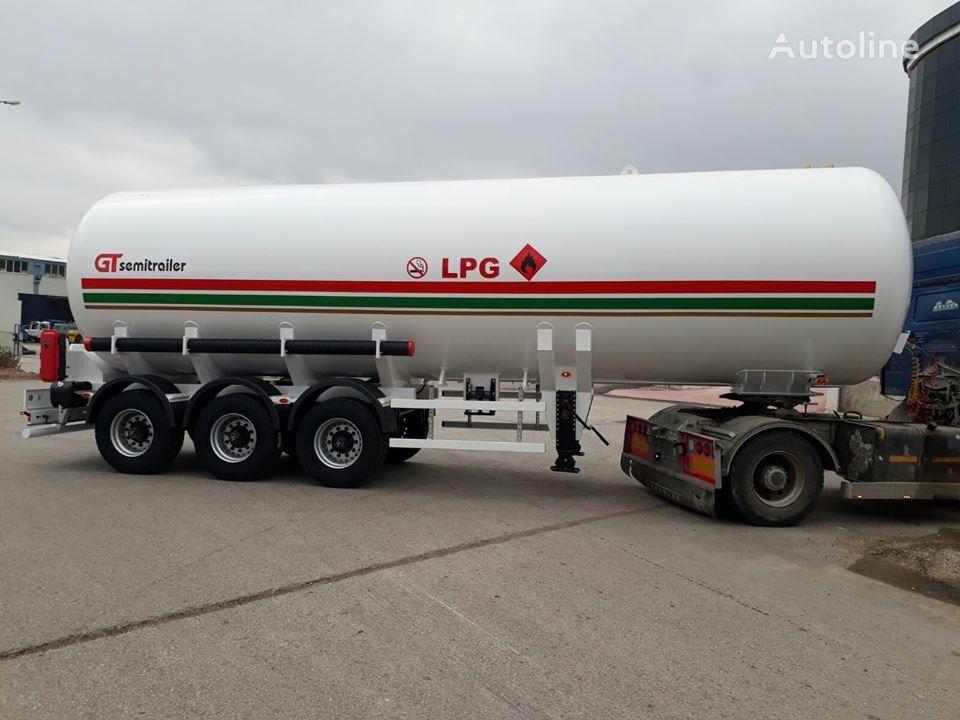 new GURLESENYIL 3 axles lpg semi trailers  gas tank trailer