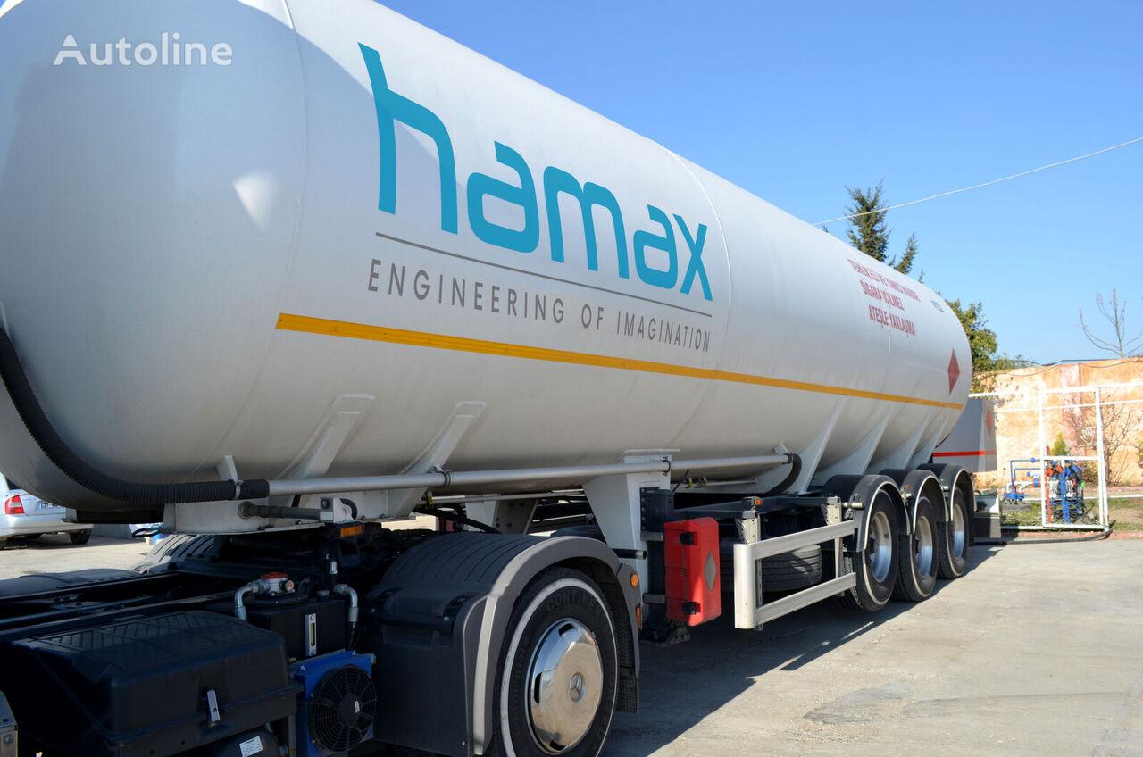 new HAMAX TRS45 LPG 45m3 TRAILER gas tank trailer