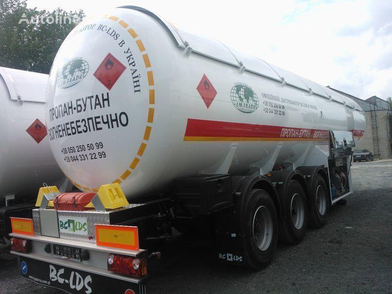new LDS NCG-46 gas tank trailer