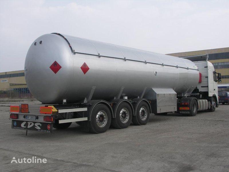 new LDS NCG-48 gas tank trailer