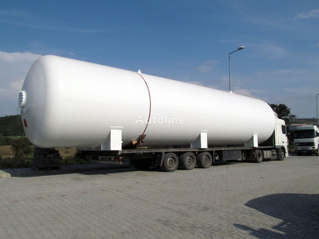 new MAS TRAILER TANKER 5 m3 - 150 m3 LPG Storage Tank From Factory gas tank trailer