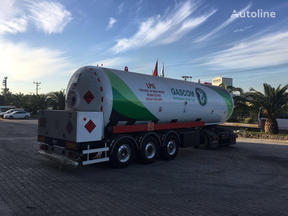 new MIM-MAK ADR CERTIFICATE LPG TRANSPORT TANK gas tank trailer