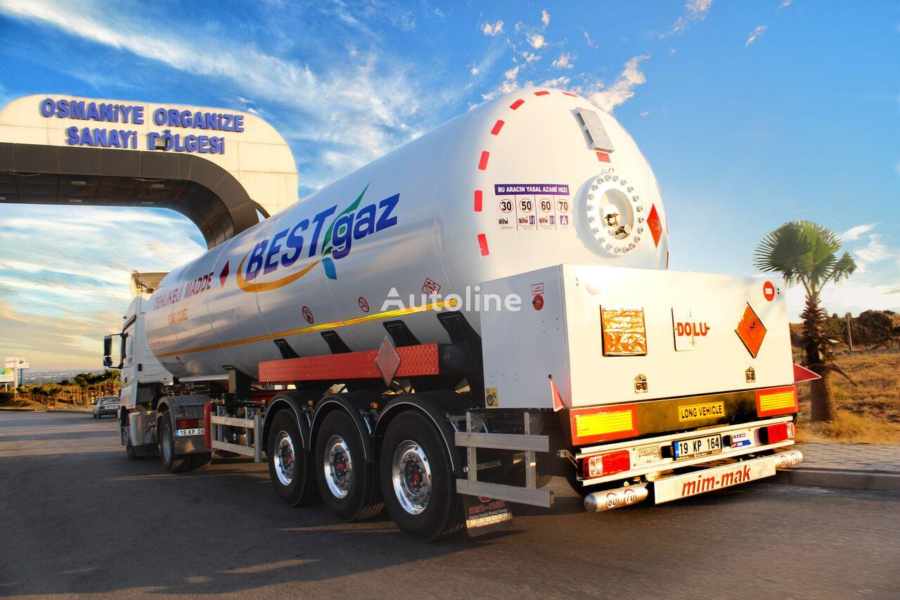 MIM-MAK ADR'Lİ  LPG TRANSPORT TANK - 45m³ - 48m³ - 49m³ gas tank trailer