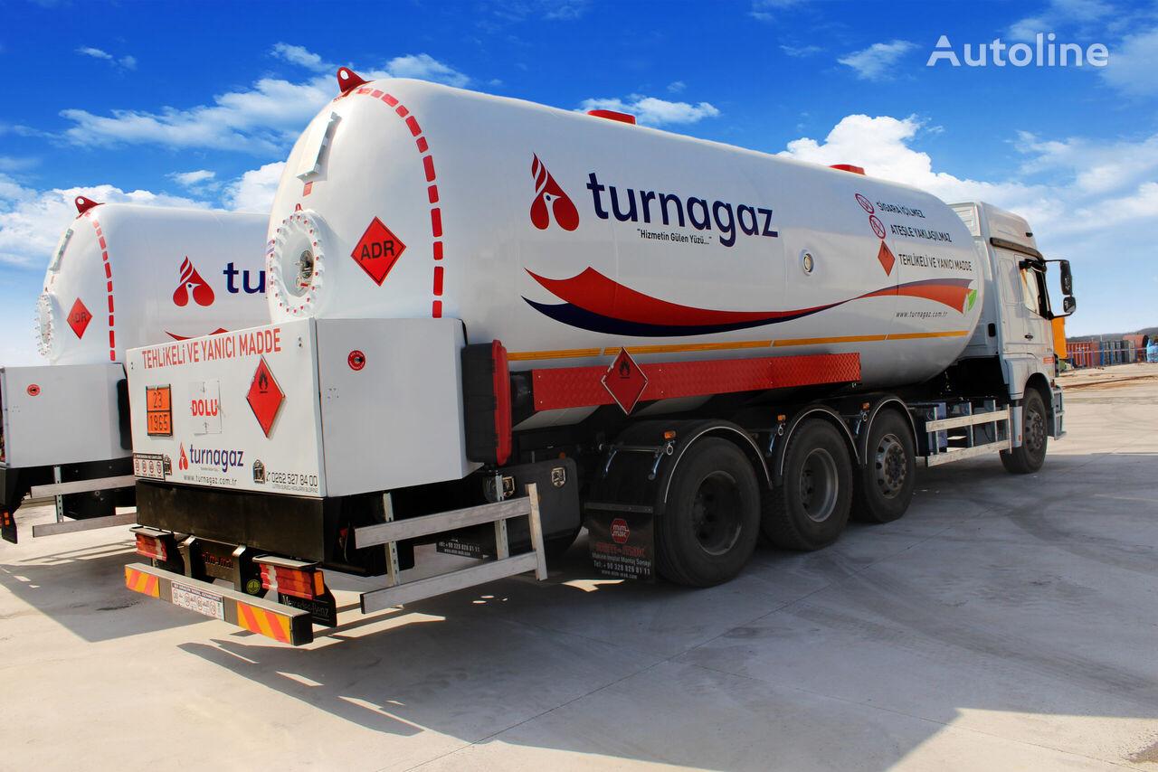 new MIM-MAK  LPG BOBTAİL TANK 32 m³ / 34 m³ gas tank trailer