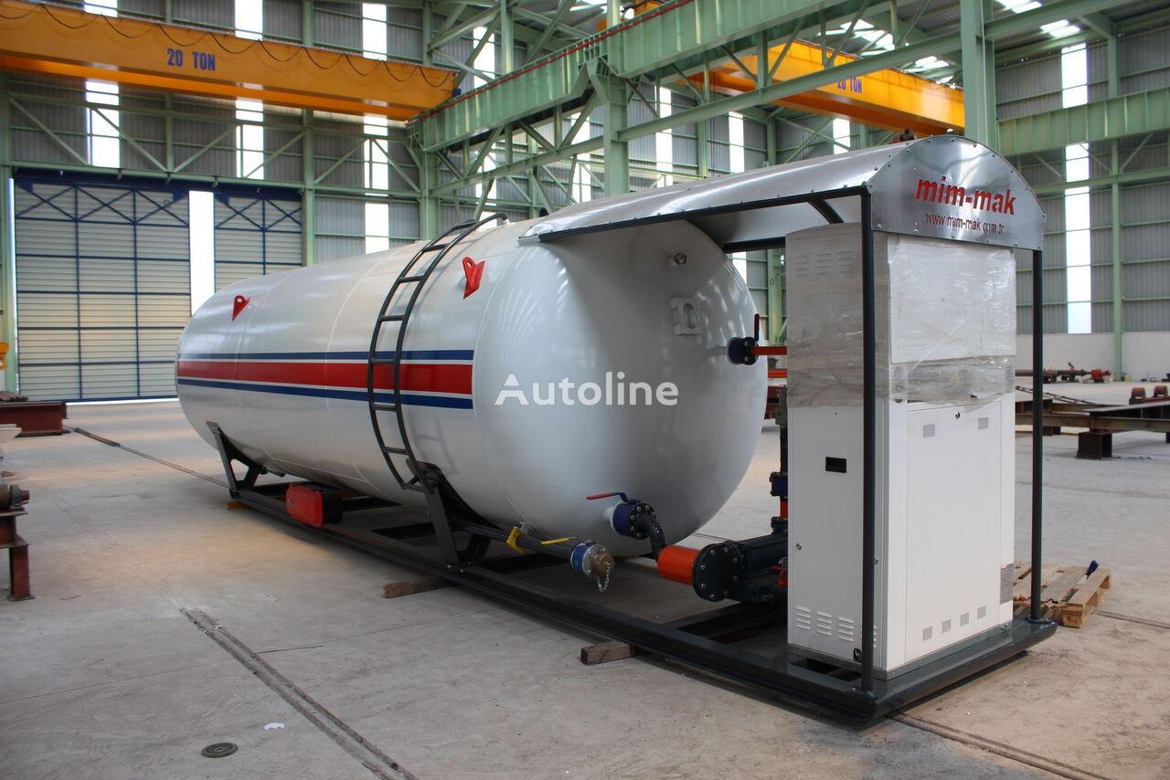 new MIM-MAK LPG SKID SYSTEM - 10 m³ / 50 m³ gas tank trailer