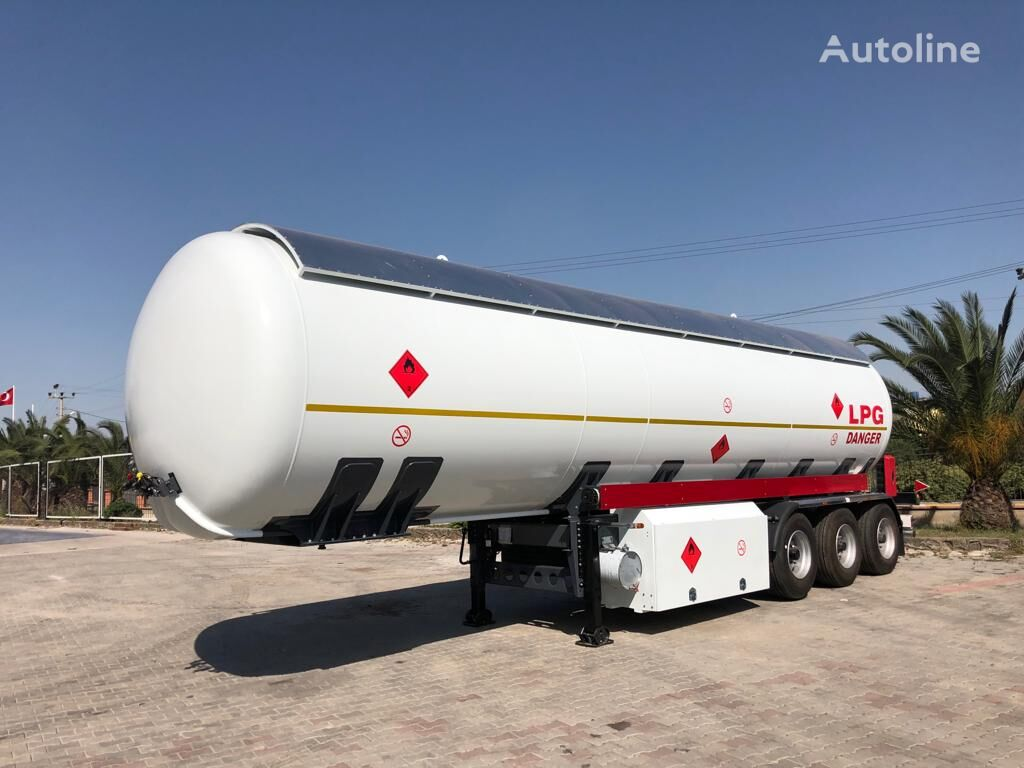 new MIM-MAK LPG TRANSPORT TANK 3 DİNGİL HAVA SÜSPANSIYON gas tank trailer