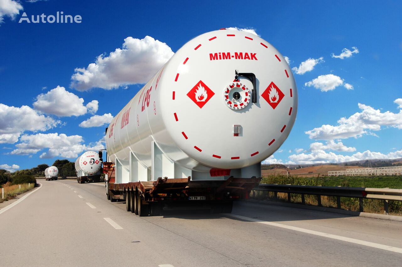 new MIM-MAK LPG YER ÜSTÜ DEPOLAMA TANKI - 5 m³ / 3500 m³ gas tank trailer