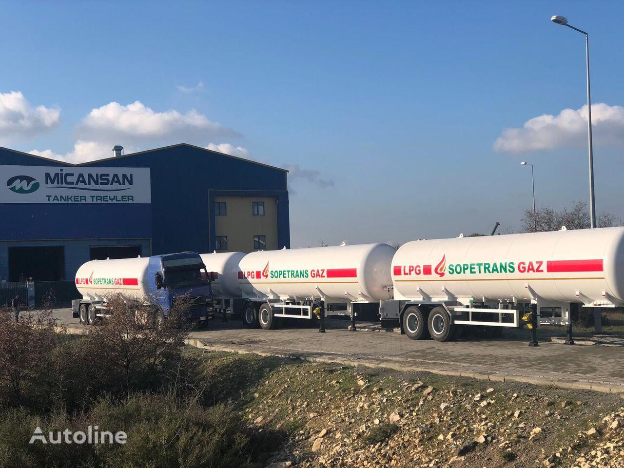 new Micansan gas tank trailer