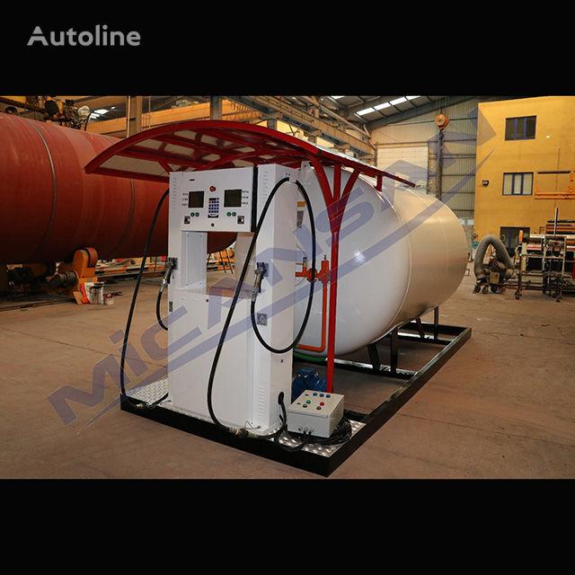 new Micansan BIG DISCOUNT 2019 10-20 m3 skıd auto gas and fıllıng cylınder sy gas tank trailer