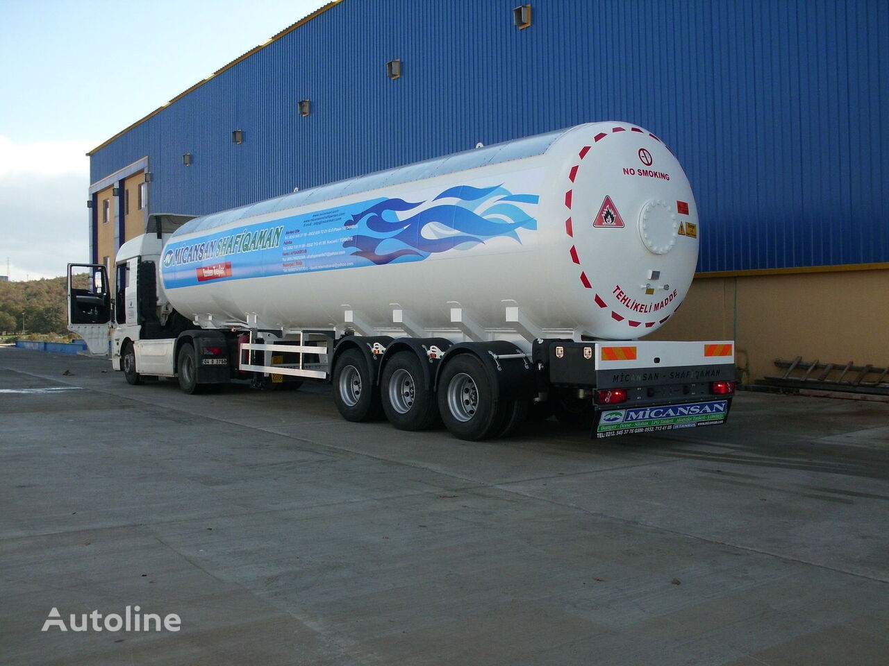 new Micansan BIG DISCOUNT 2021 35-45-50-57-60 m3 EASY PAYMENT 3-4 TIMES FOR 4 gas tank trailer