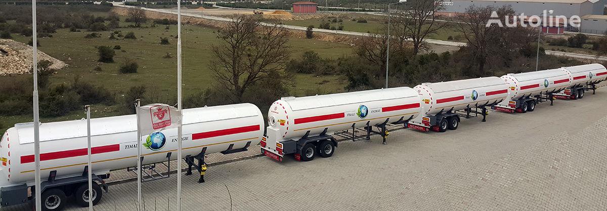 new Micansan LAST 5 UNITS 2020 57 M3 LAGOS/COTONEAU CIF 34.500 EURO gas tank trailer