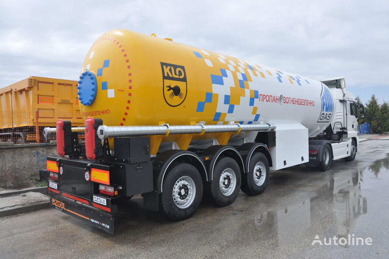 new OZGUL GAS TANKER SEMI TRAILER gas tank trailer
