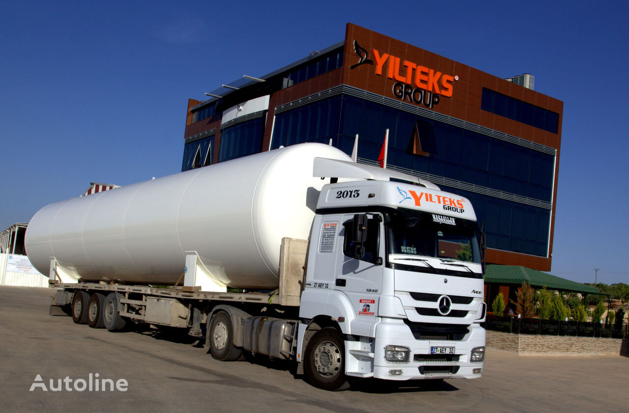 new YILTEKS LPG Storage Tank gas tank trailer